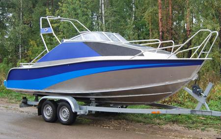 Лодка «Windboat 66»