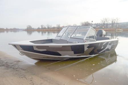 Универсальная моторная лодка «Realcraft 460»