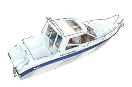 Лодка Silver Eagle Cabin 650