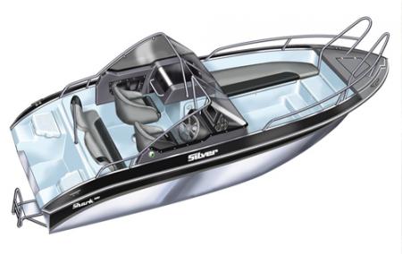 Лодка Silver Shark DC 580