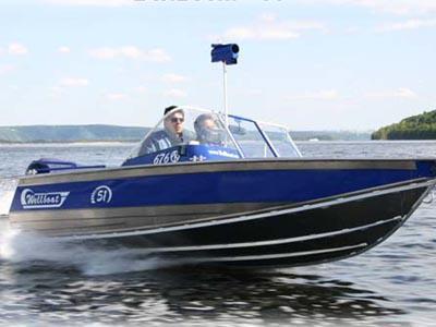 Моторная лодка Вельбот 51