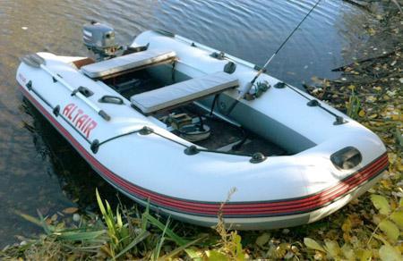 Надувная ПВХ лодка «Альтаир Сириус 315»