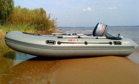 Надувная ПВХ лодка «Антей 380»