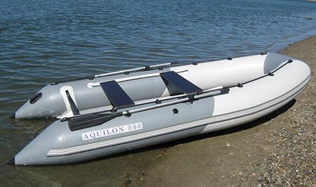 Надувная ПВХ лодка с НДНД «Aquilon 390»