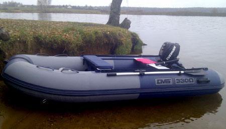 Надувная ПВХ лодка «ДМБ Омега 330»