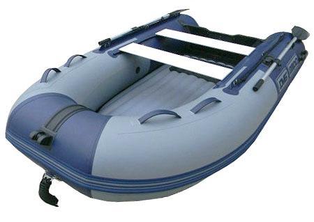 Надувная ПВХ лодка с НДНД «ДМБ Омега 390»
