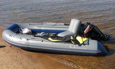 Надувная ПВХ лодка «Флагман 380»