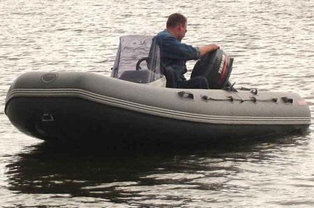 Надувная ПВХ лодка «Кайман N 400»