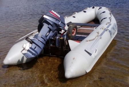 Надувная ПВХ лодка «Лидер 320»