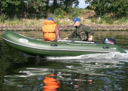 Надувная лодка «Лидер 400»