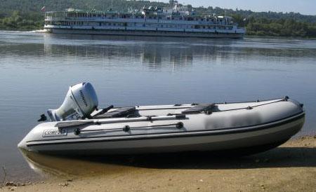 Надувная лодка с НДНД «КомпАс 400»