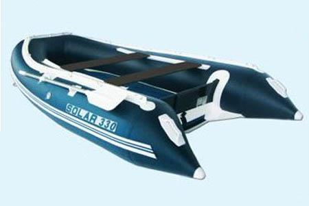 Надувная ПВХ лодка с НДНД «Солар 330»