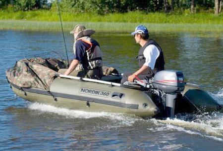 Надувная ПВХ лодка «Nordik 360»