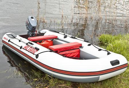 Надувная моторная ПВХ лодка «Sirius 335»
