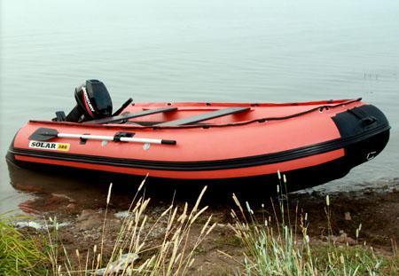 Надувная ПВХ лодка с НДНД «Солар 380»