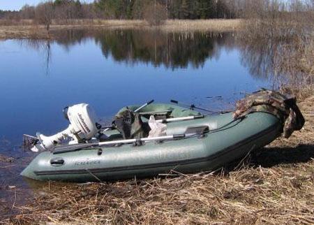 Надувная ПВХ лодка «Тайга 320»
