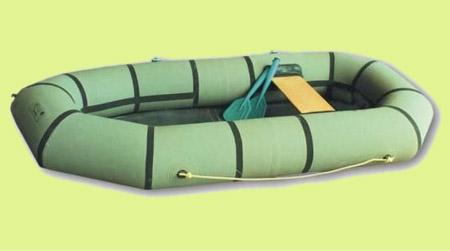 Надувная резиновая лодка «Ветерок 1»