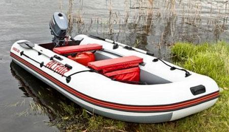 Моторно-гребная ПВХ лодка «Alfa 280»