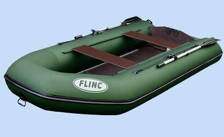 Надувная ПВХ лодка «Flinc FT340KL»