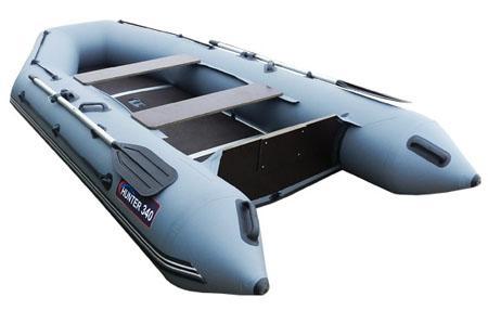 Надувная ПВХ лодка «Хантер 340»