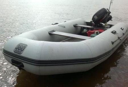 Надувная ПВХ лодка «Патриот 360»