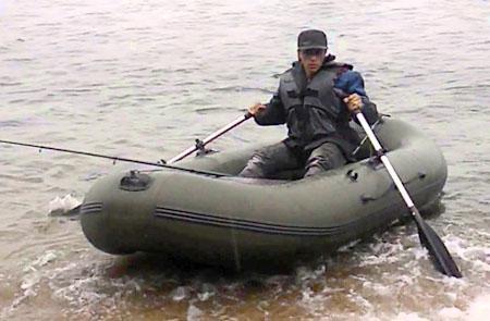 Надувная ПВХ лодка «Пеликан 300»