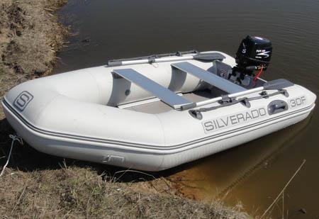 Надувная ПВХ лодка «Silverado 30F»