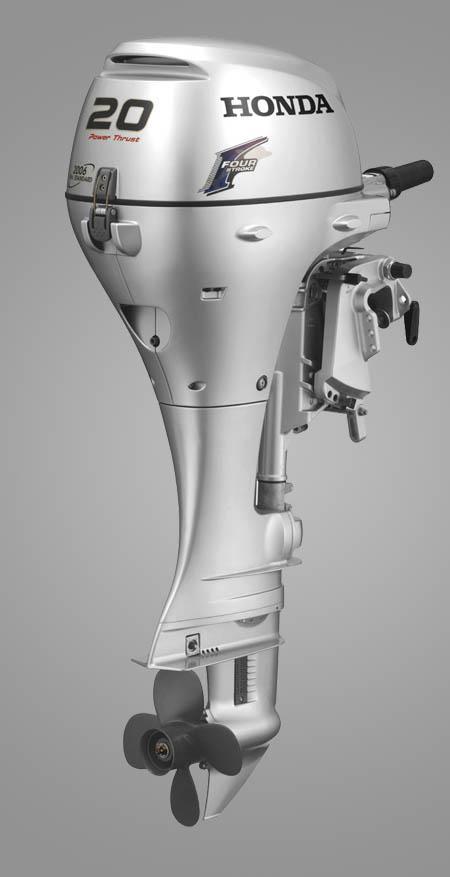 Подвесной лодочный мотор «Honda BF20»