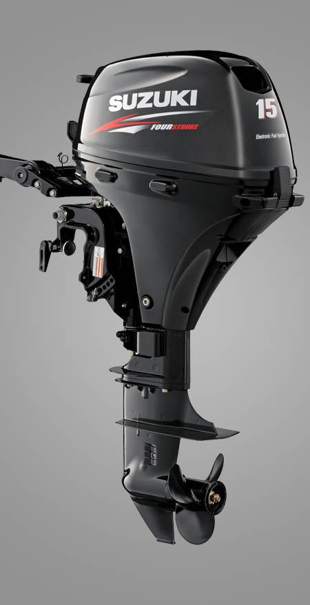 Подвесной лодочный мотор «Suzuki DF 15»