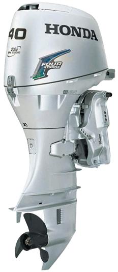 Подвесной лодочный мотор Honda BF40. Обзор