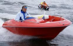 Cпортивный стеклопластиковый катер «FUNKY Sport Jet»