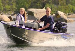 Алюминиевая моторная лодка «Adventure 410»