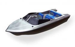 Стеклопластиковая моторная лодка «Akvilon 450»