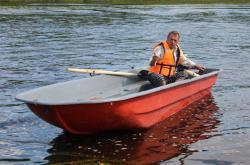 Стеклопластиковая лодка «Altan 46»