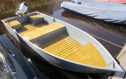 Двухместная алюминиевая лодка «Barents 350»