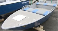 Алюминиевая лодка «Barents 450»