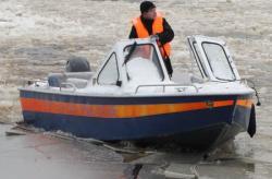 Алюминиевая моторная лодка «Barents 540»