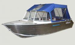 Алюминиевая моторная лодка «Бестер 490»