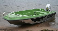 Лодка «Гризли 420»