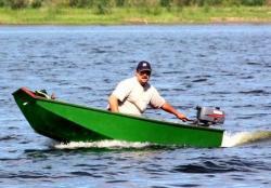 Деревянная лодка «ДжекБот 300»