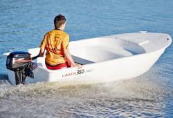 Моторно-гребная лодка «Laker 350»