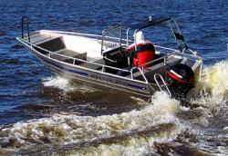 Алюминиевая моторная лодка «Master 450»