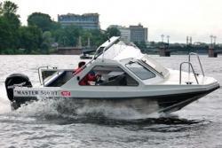 Алюминиевая моторная лодка «Мастер 540 НТ»