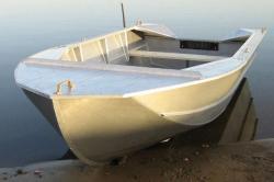 Компактная алюминиевая лодка-картоп «Мста-Н»