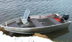 Алюминиевая моторная лодка «RusBoat 36»