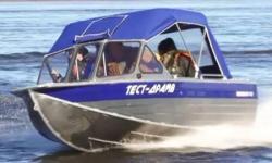 Моторная алюминиевая лодка «RusBoat 47»