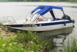 Алюминиевая моторная лодка «RusBoat 52»