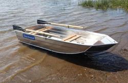 Алюминиевая лодка «Тактика 270»