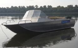 Алюминиевая моторная лодка «Тактика 420»