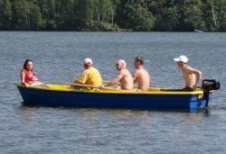 Стеклопластиковая моторно-гребная лодка «Тортилла 5»